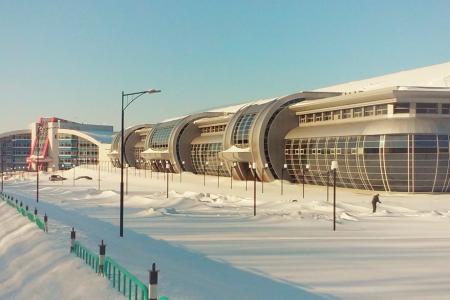 Центр олимпийской подготовки и футбольный манеж, г. Саранск, Республика Мордовия