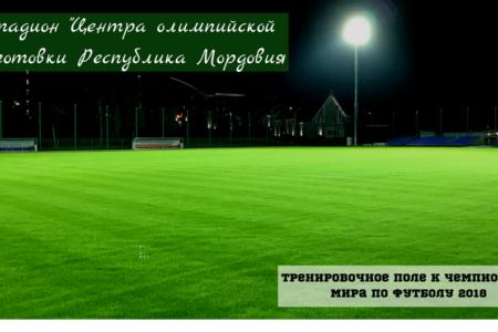 Освещение футбольного поля ЦОП